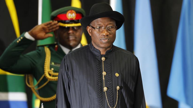 Boko Haram: Der nigerianische Präsident Goodluck Jonathan am 2. September 2014