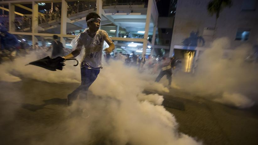 Hongkong: Studentengruppe ruft zum Ende der Proteste auf