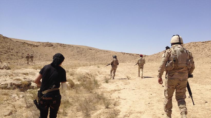 Irak IS Luftangriffe USA
