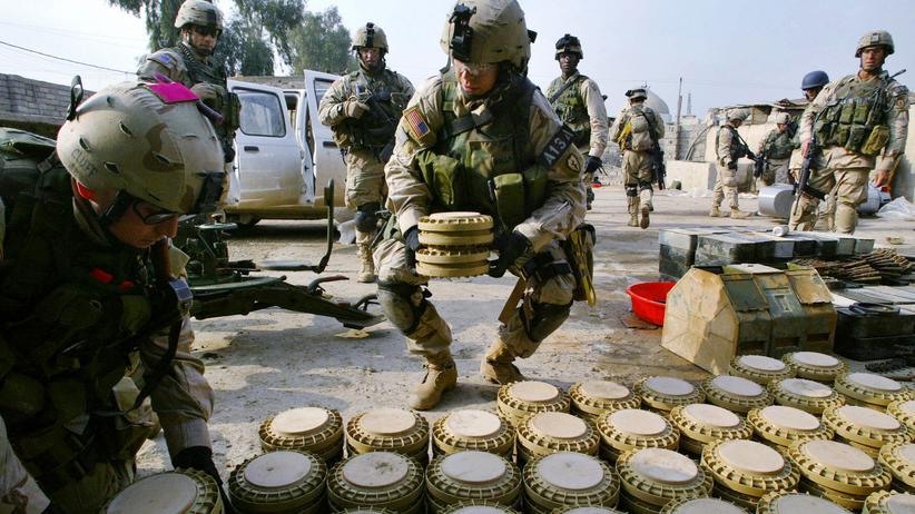Waffen: USA wollen weitgehend auf Landminen verzichten