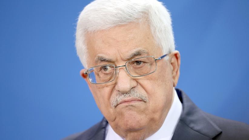 Palästinenser: Palästinenser-Präsident Mahmud Abbas
