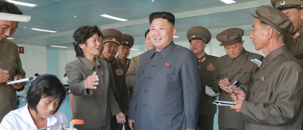 Nordkorea Kim Jong Un Gesundheitsprobleme
