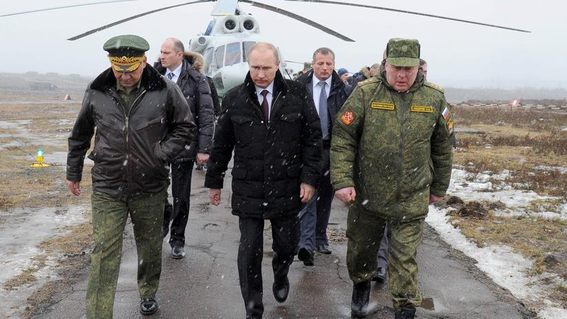 Ukraine-Krise: Putin soll Nato-Staaten militärisch gedroht haben
