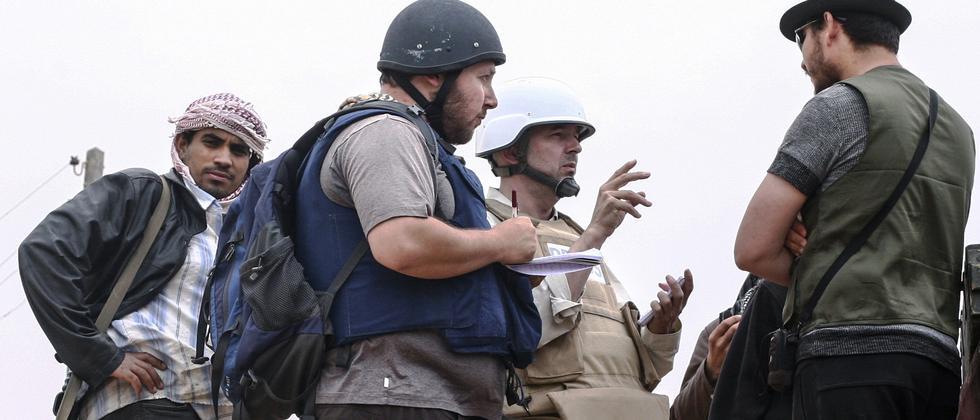 Sunnitische Terrormiliz Islamischer Staat Entahuptung US Journalist