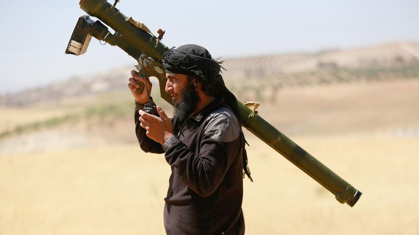 Deutsche Islamisten: Kämpfer der Al-Nusra-Miliz in Syrien