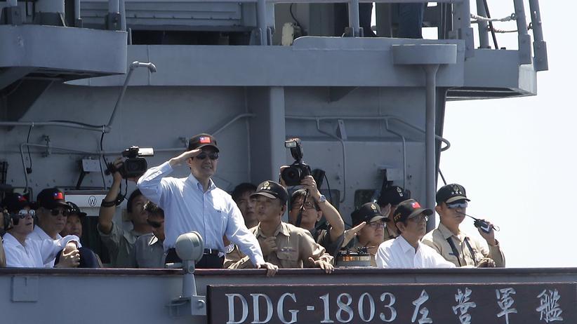 Der taiwanesische Präsident Ma Ying-jeou