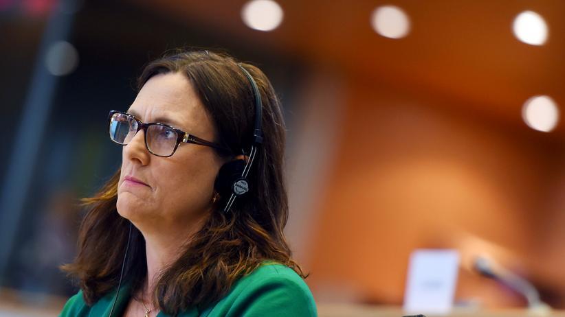 Europäische Kommission: Die designierte EU-Handelskommissarin Cecilia Malmström