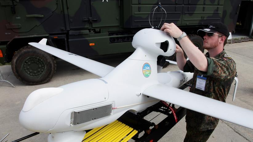 Ulraine: Deutschland erwägt Einsatz von Drohnen, Erkundungsteam startet