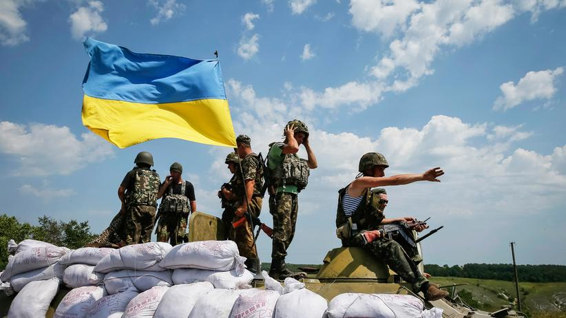 Ukraine-Krieg: Ukrainische Soldaten in der Ostukraine.