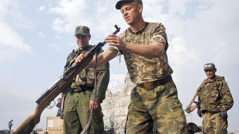 Ukraine Russland Waffenruhe Putin Poroschenko