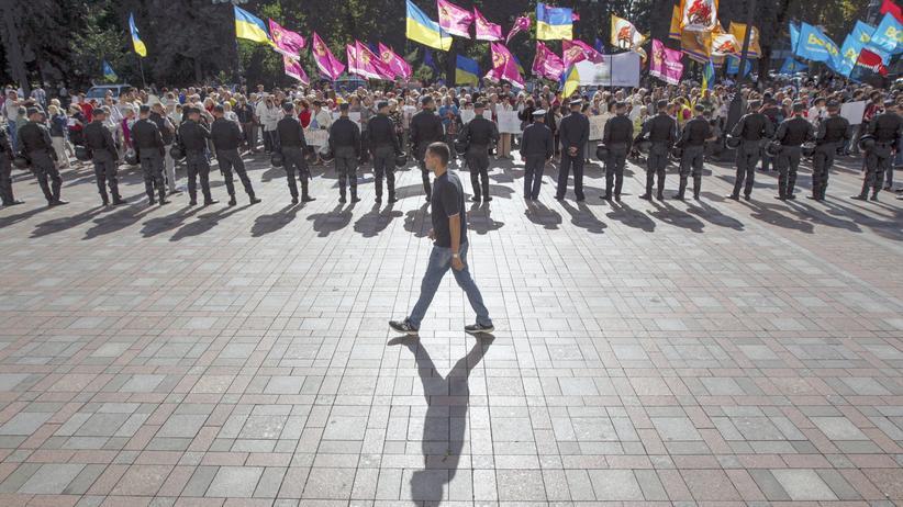 Ukraine: Wahlkampf am Rande des Kriegs
