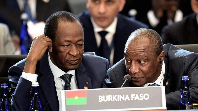 Burkina Faso :  Blaise Compaoré im Februar 2014 in Washington, D.C.