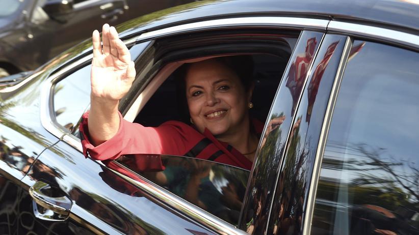 Die brasilianische Präsidentin Dilma Rousseff muss in eine Stichwahl