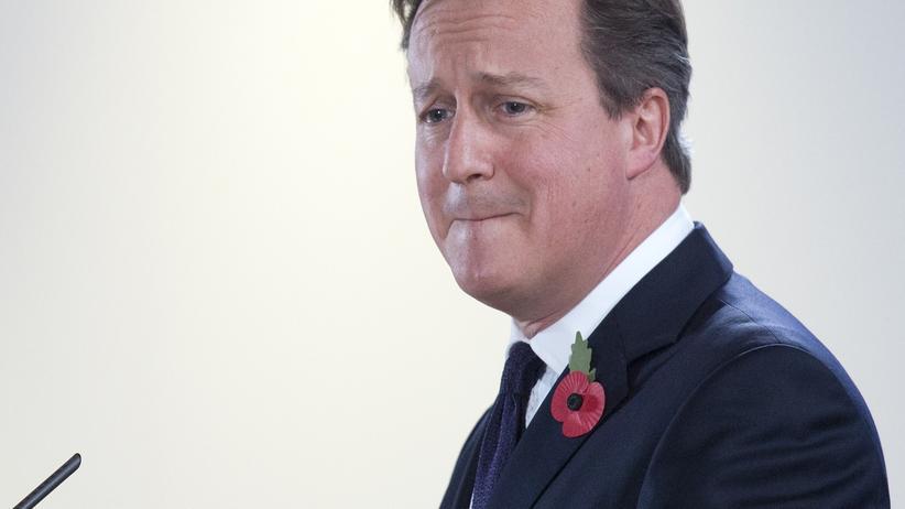David Cameron: Der britische Premierminister David Cameron