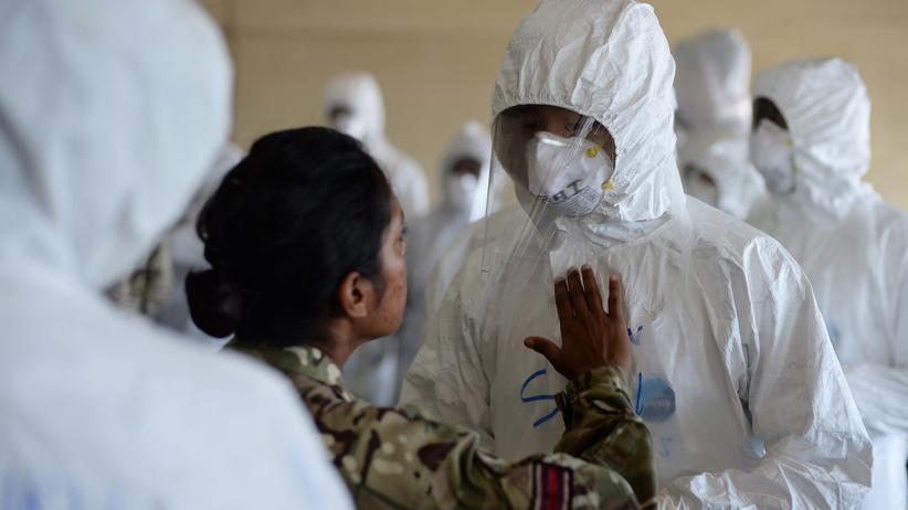 Epidemie: Ebola-Training in Sierra Leone