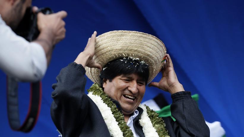 Der bolivianische Präsident Evo Morales (Archiv)