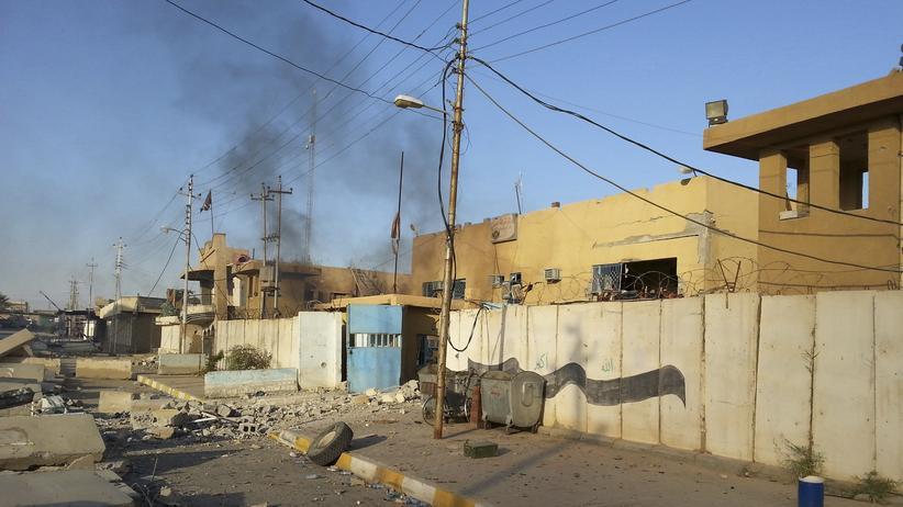 Hit in der irakischen Provinz Anbar konnte von der IS-Miliz eingenommen werden
