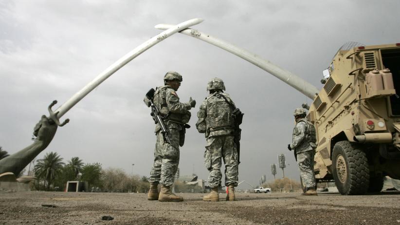 Irak: US-Soldaten in Bagdad im Jahr 2008