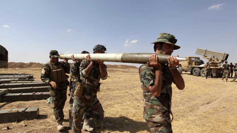 """Islamischer Staat"": Peschmerga-Kämpfer aus dem Irak"