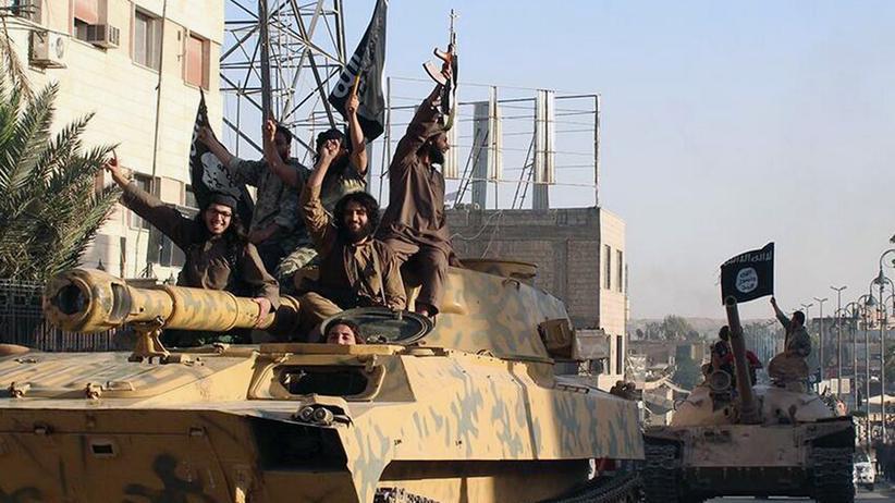 """""""Islamischer Staat"""": Kämpfer der IS-Terrormiliz (Archivbild)"""