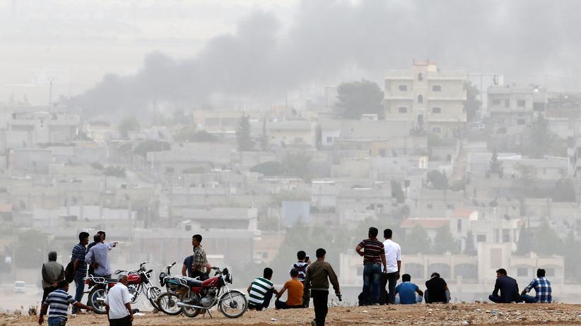 Islamischer Staat Kobani Kurden Syrien