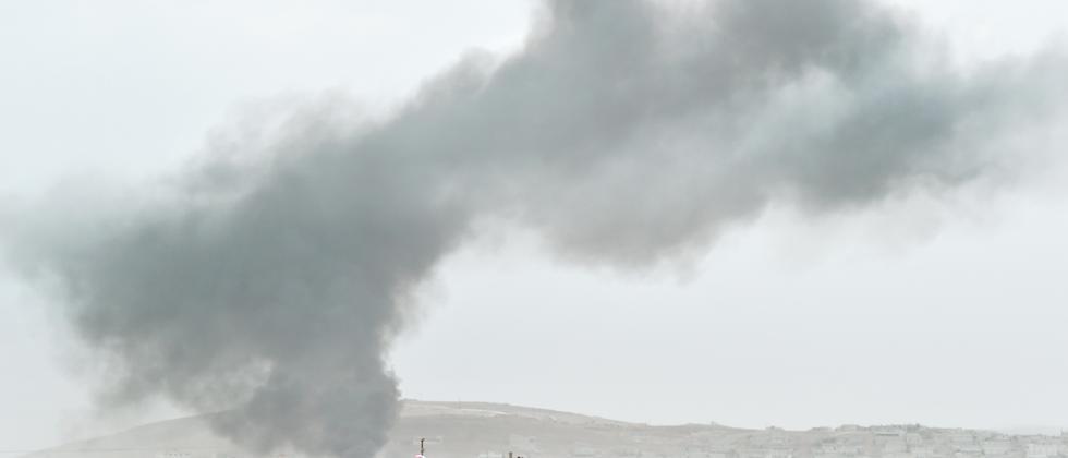 Kobani Syrien Luftschlag Terrormiliz Islamischer Staat
