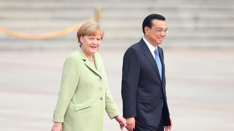 Li Keqiang Merkel Berlin Besuch Deutschland China