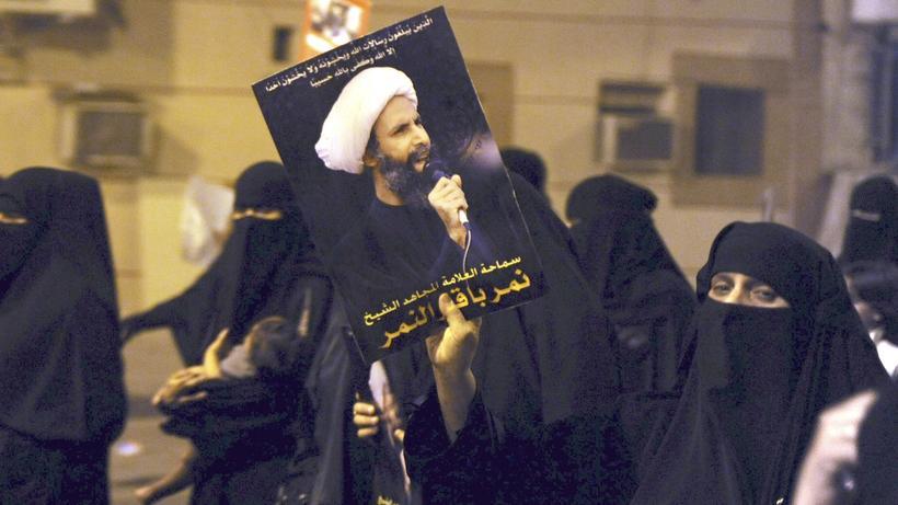 Kreuzigung in saudi arabien