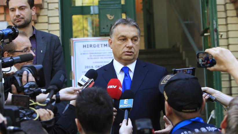 Ungarn: Unter Druck: der ungarische Ministerpräsident Viktor Orbán