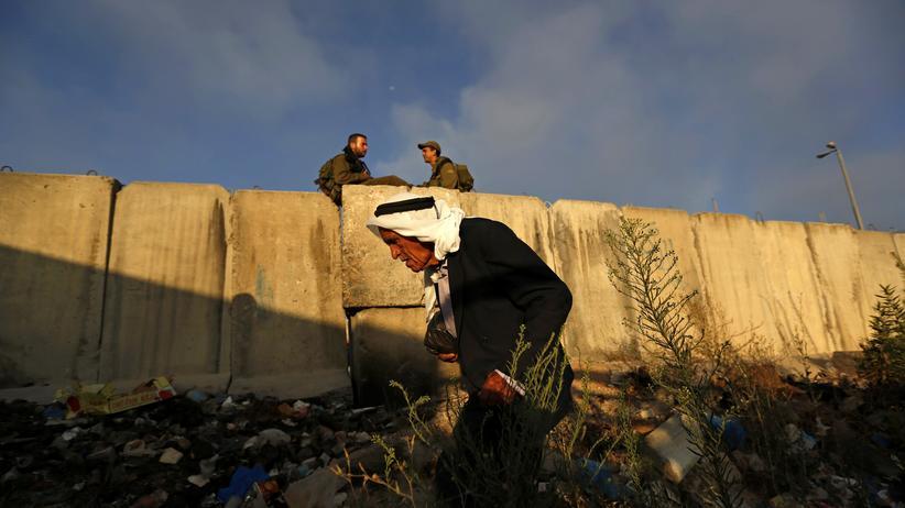 Nahost: Der israelische Grenzwall zum Westjordanland