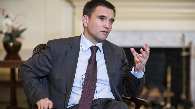 Pawlo Klimkin, Außenminister der Ukraine