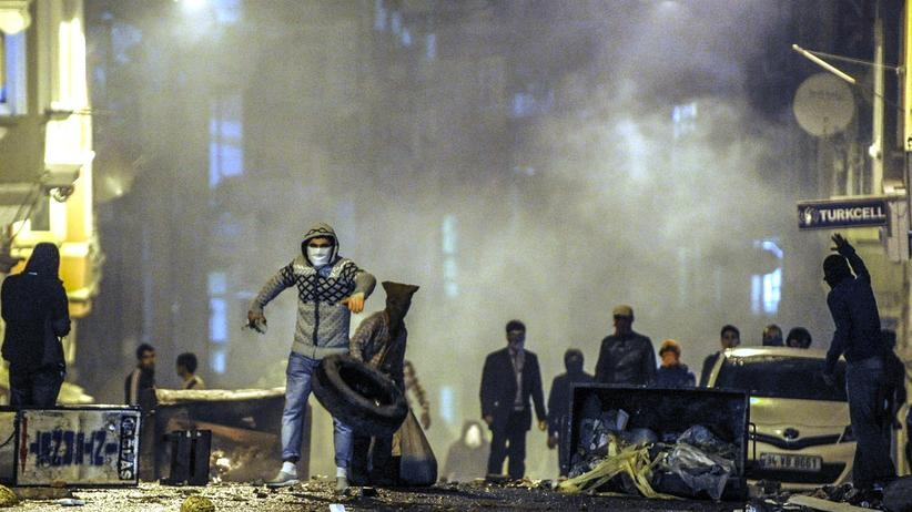 Kurdenproteste Türkei Journalisten Erdogan