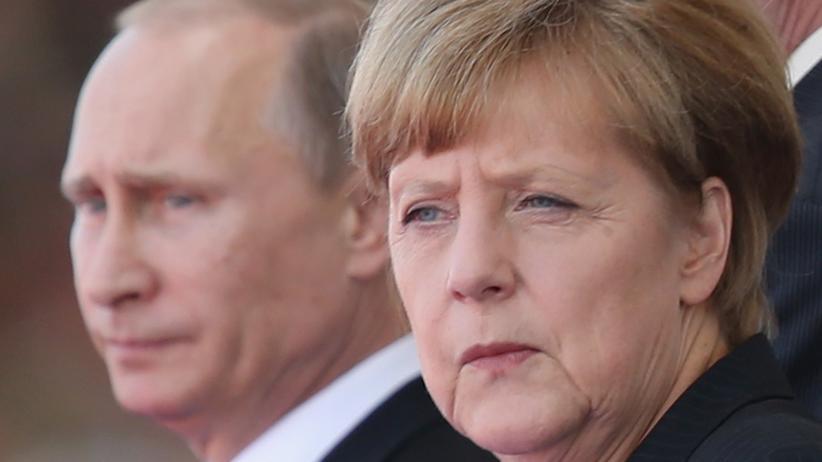 Ukraine-Konflikt: Wladimir Putin und Angela Merkel (Bild vom Juni 2014)