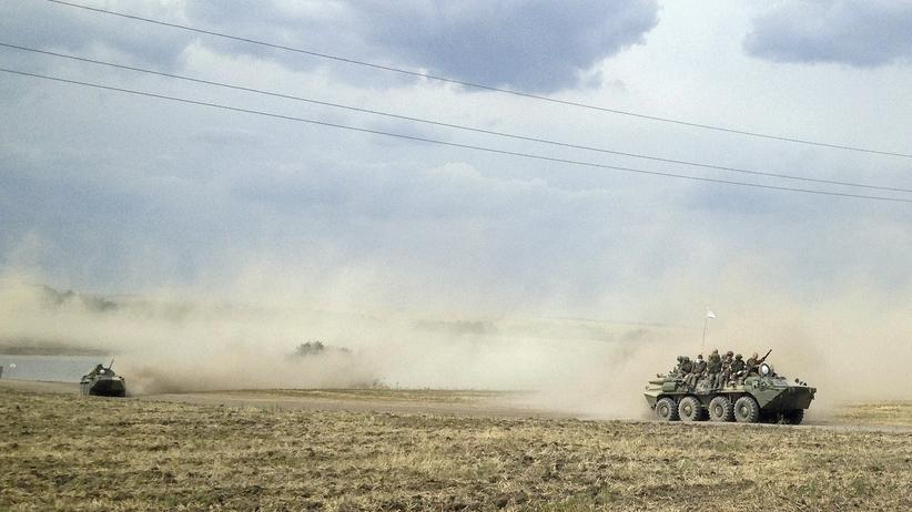 Putin Truppen Russland Nato Grenze