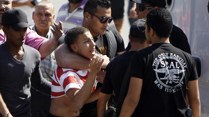 Studentenproteste in Kairo (Archivbild von Mai)