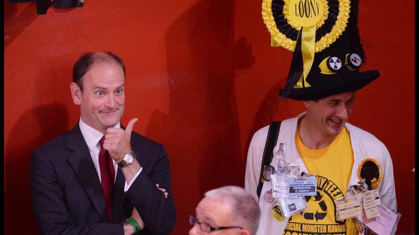 Douglas Carswell zieht ins britische Unterhaus ein