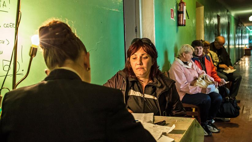 Flüchtlinge: Registrierung von ukrainischen Binnenflüchtlingen