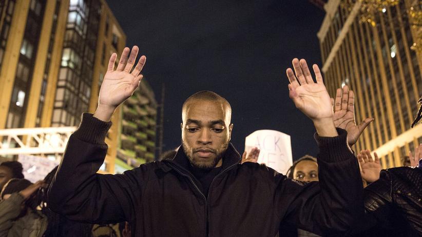 Ferguson: Die Proteste gegen Polizeiwillkür in den USA haben viele Großstädte erfasst.