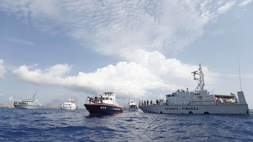 Grenzschutz Italien Küstenwache