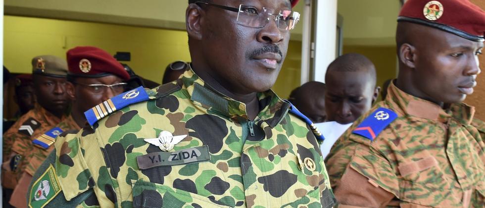 Isaac Zida Burkina Faso