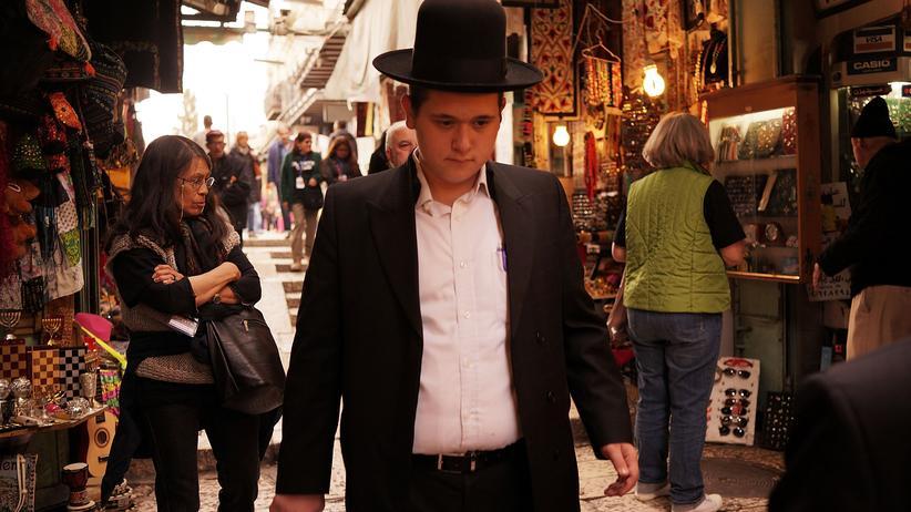 Jerusalem: Straßenszene in der Altstadt von Jerusalem