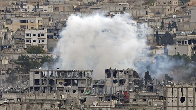 Kobani: Kurden berichten von IS-Angriff aus der Türkei