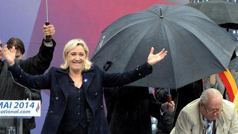 Frankreich: Marine Le Pen, Parteichefin des rechtsextremen Front National in Frankreich