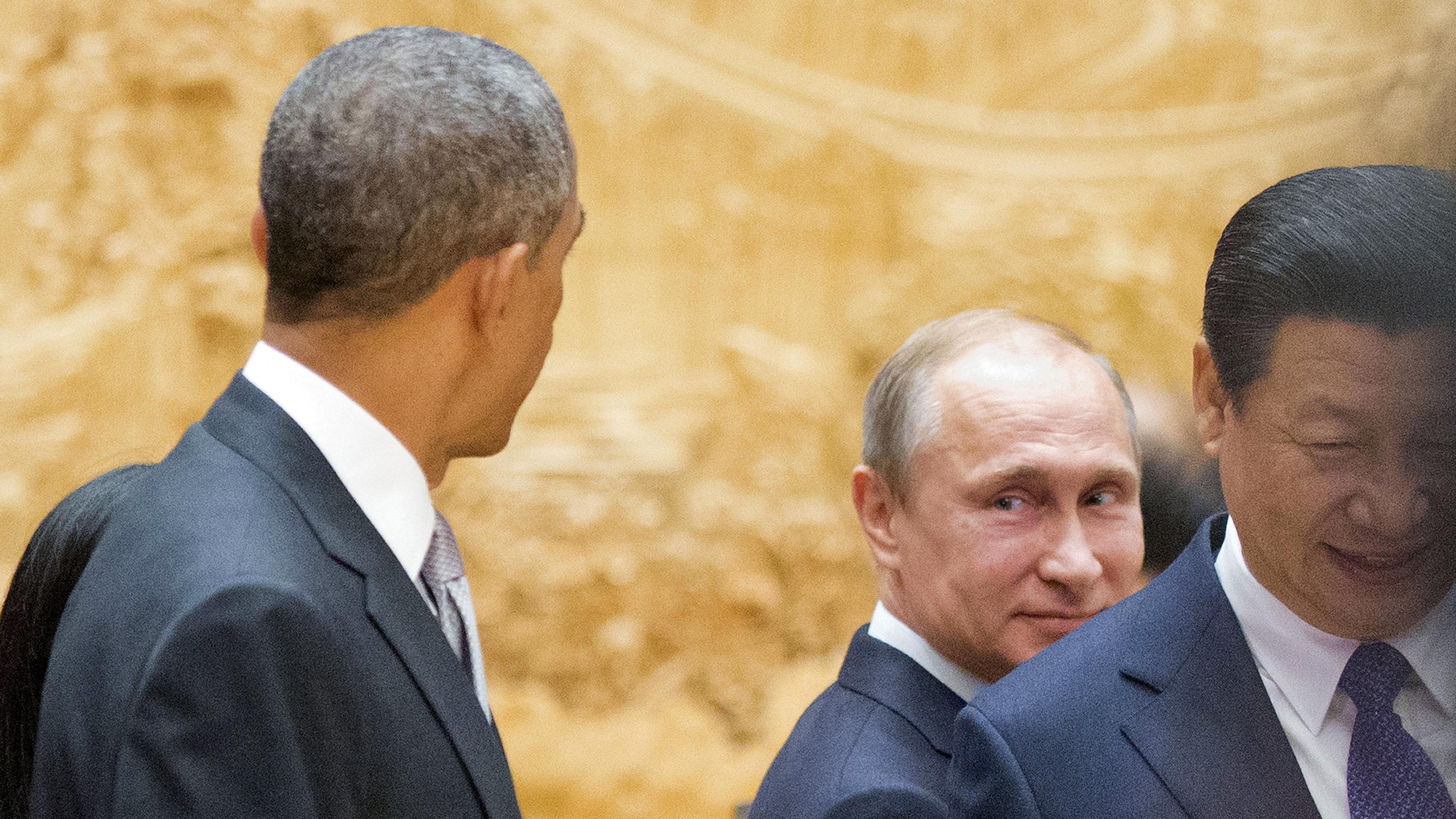 Lieber Putin als Obama