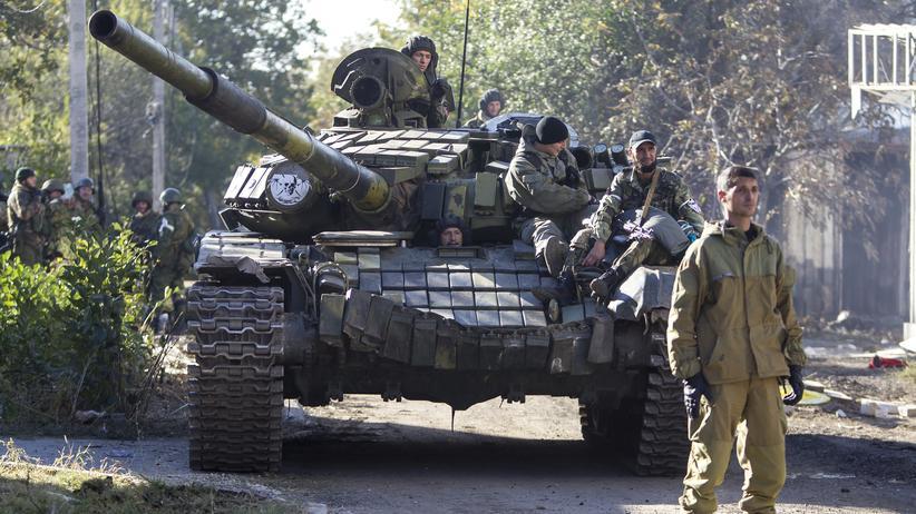 Ein Panzer der Separatisten
