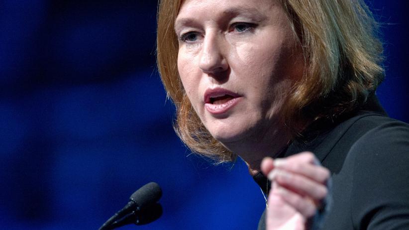 Israel: Israels Justizministerin Zipi Livni (Archivbild)