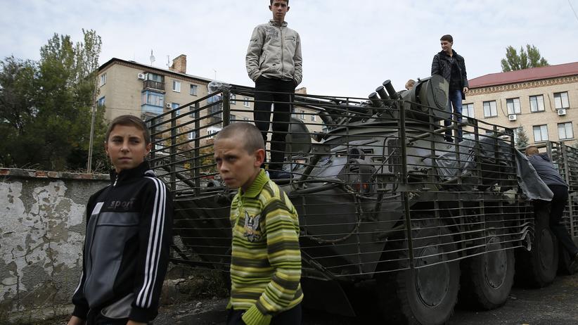 USA Ukraine Ausrüstung Militär Krise
