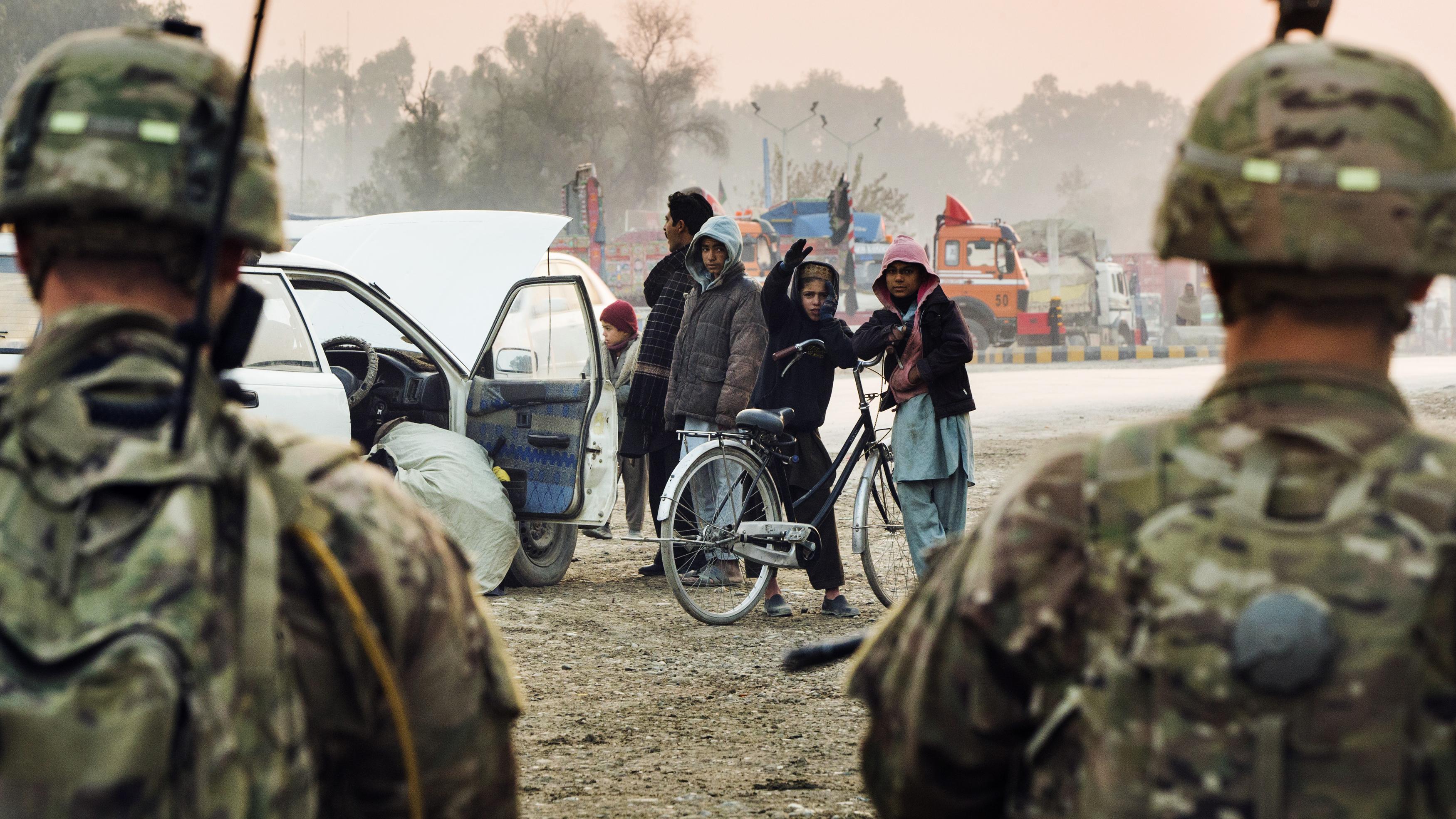 Die Isaf-Soldaten gehen, der Krieg bleibt