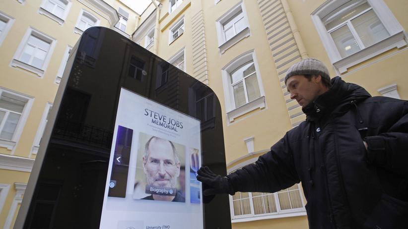 iPhone-Statue: Russische Homophobien