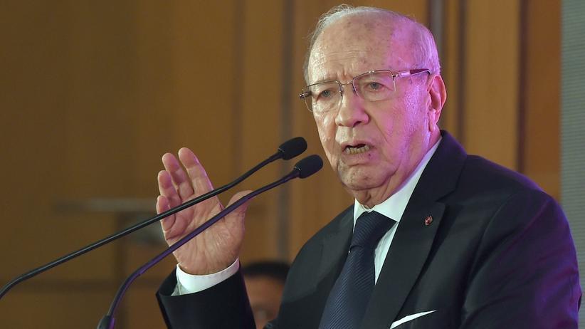Beji Caid Essebsi Tunesien